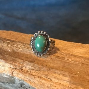 Jewelry - Native American Sterling and Turquoise Ring